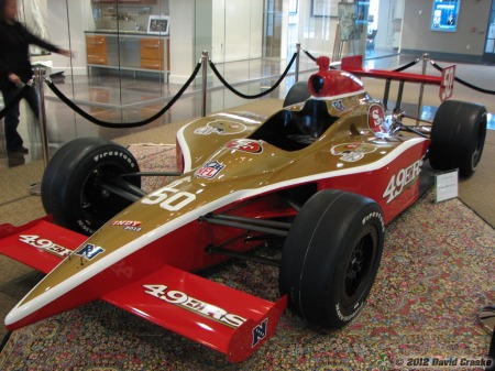Image of San Francisco 49ers SuperCar