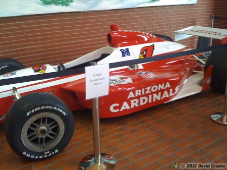 Image of Arizona Cardinals SuperCar