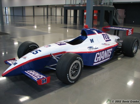 Image of New York Giants SuperCar