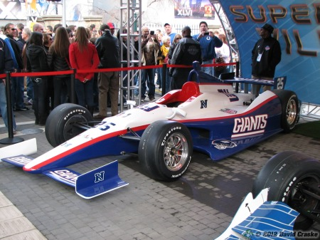 Image of New York Giants SuperCar (DW12)