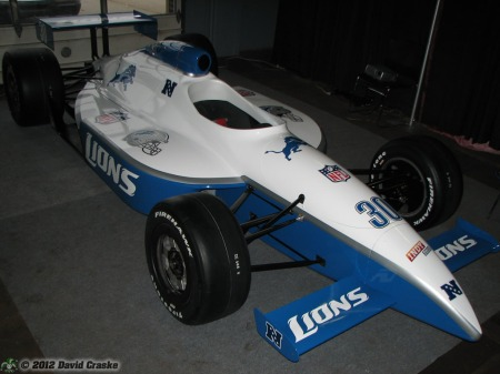 Image of Detroit Lions SuperCar