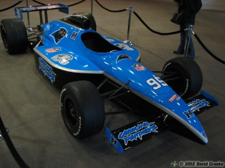 Image of Carolina Panthers SuperCar