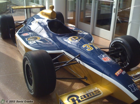 Image of St. Louis Rams SuperCar