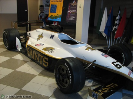Image of New Orleans Saints SuperCar